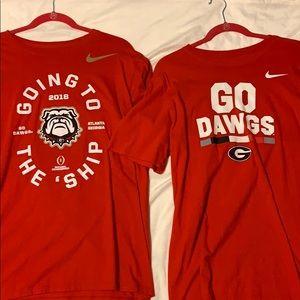3 UGA T-Shirts
